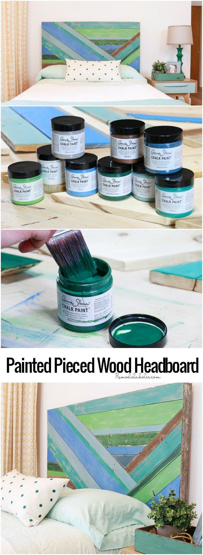 Pieced Wood Headboard Tutorial