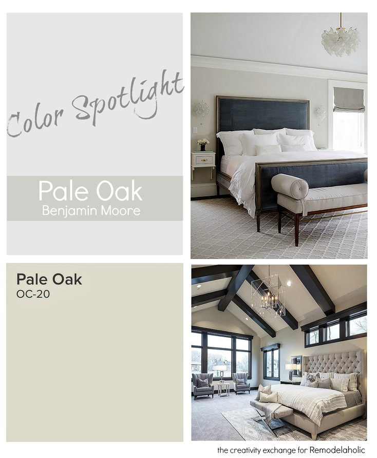 Pale Oak Benjamin Moore Is A Versatile And Stunning Neutral. Color  Spotlight On Remodelaholic.