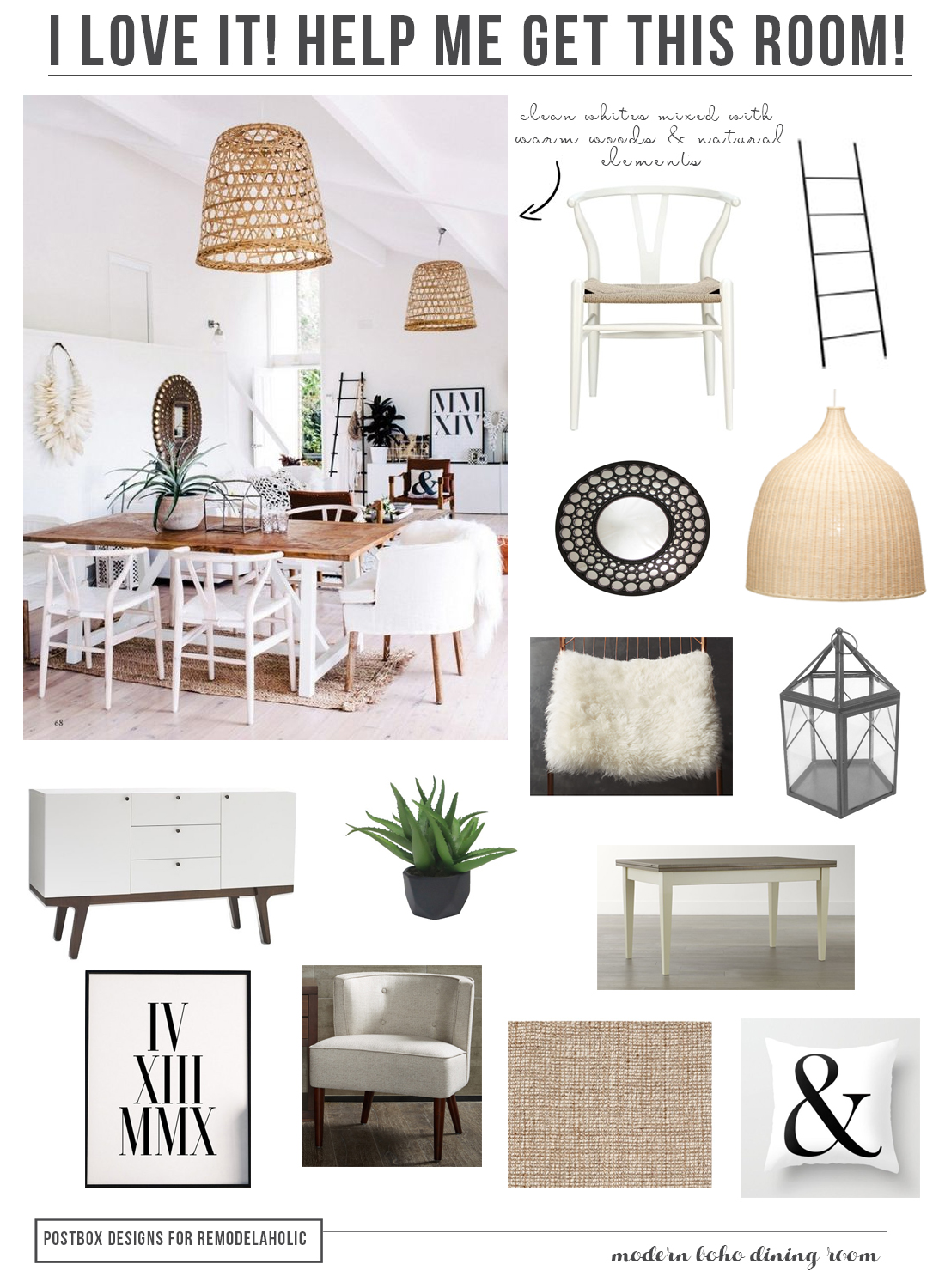 remodelaholic | how to create a boho chic style in your home