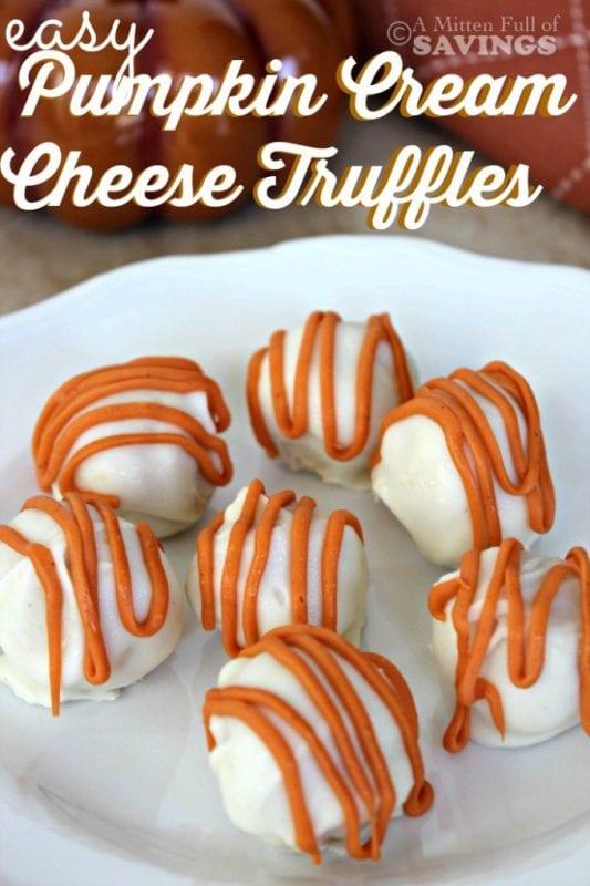 Pumpkin Cream Cheesecake Balls A Worthey Read