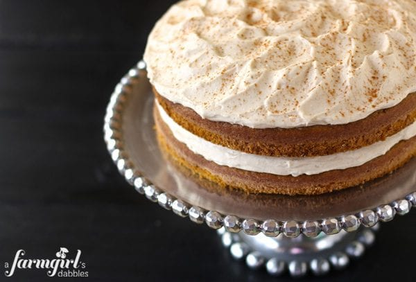 Pumpkin Layer Cake A Farm Girl Dabbles