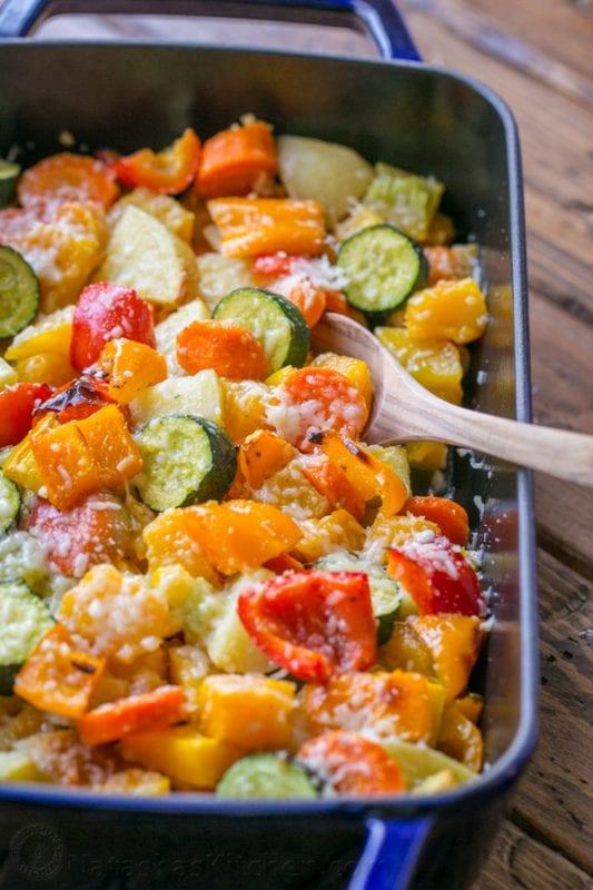 Roasted Vegetables Recipe from natashaskitchen.com