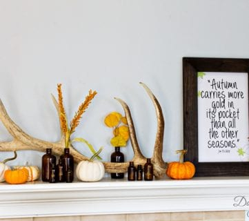 30 Perfect Thanksgiving Mantels