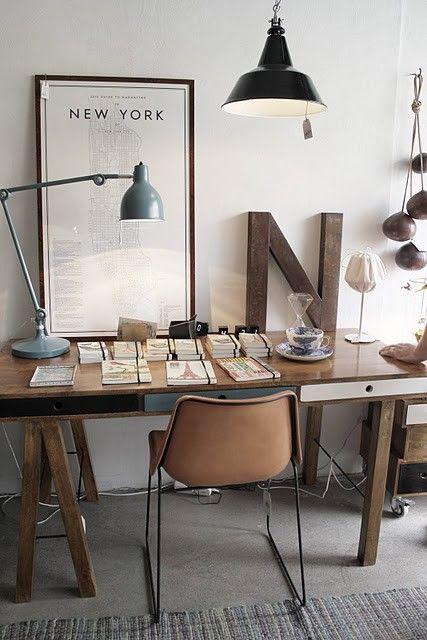 Rustic Modern Office Inspiration 4