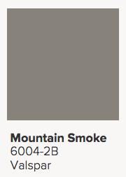 Valspar Mountain Smoke