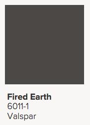 Valspar Fired Earth
