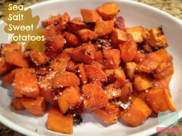 Sea Salt Sweet Potatoes Staying Close To Home