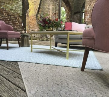 Shaw Floors Style Board at Barnsley Gardens