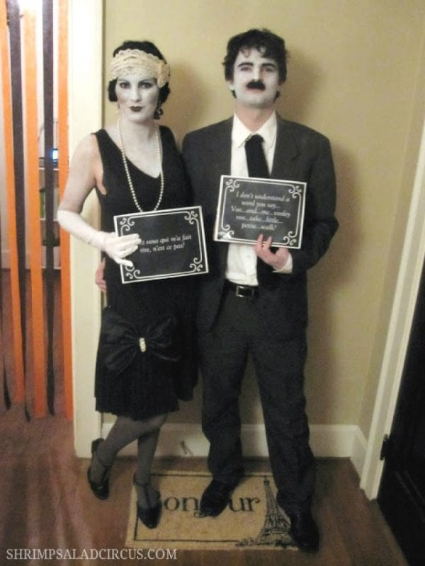 Silent Film Star Halloween Costume
