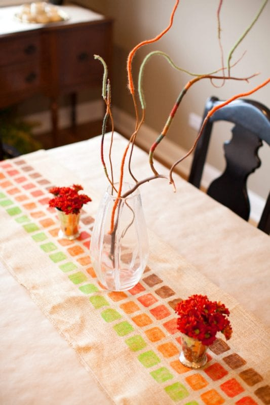 Thanksgiving Centerpiece Design Improvised Remodelaholic