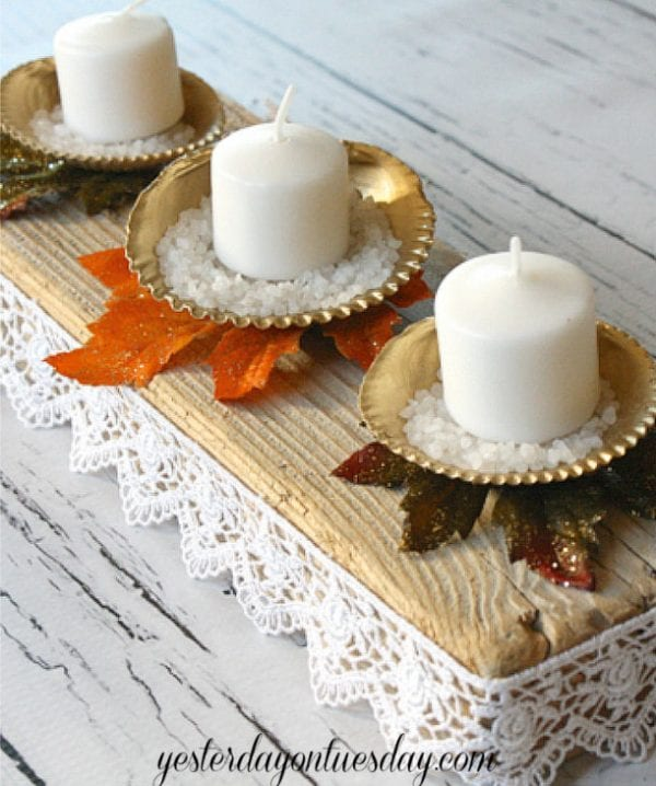 Thanksgiving Centerpiece Yesterday On Tuesday Remodelaholic