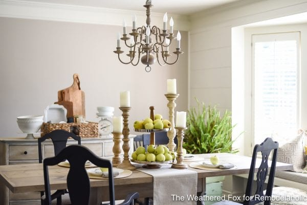 The Weathered Fox Chandelier Makeover 15
