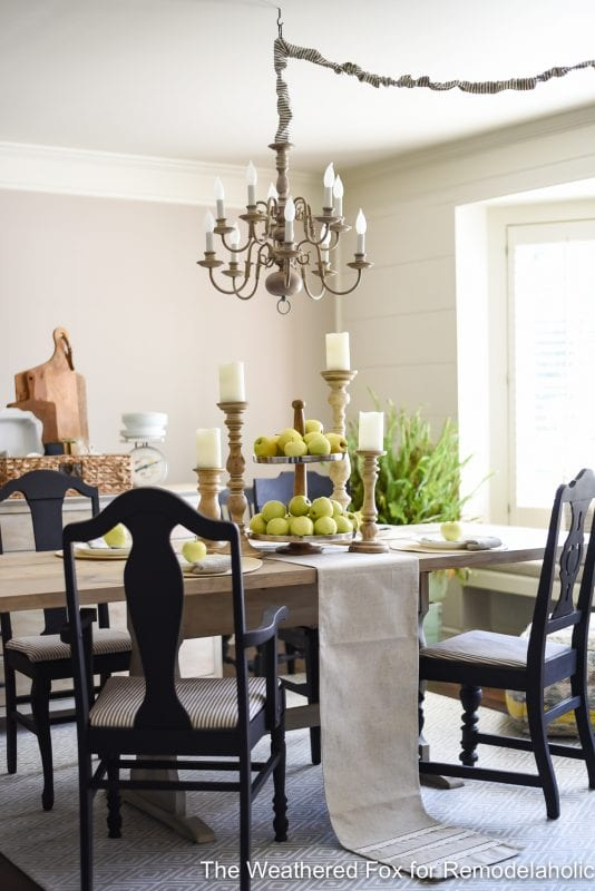 The Weathered Fox Chandelier Makeover 17