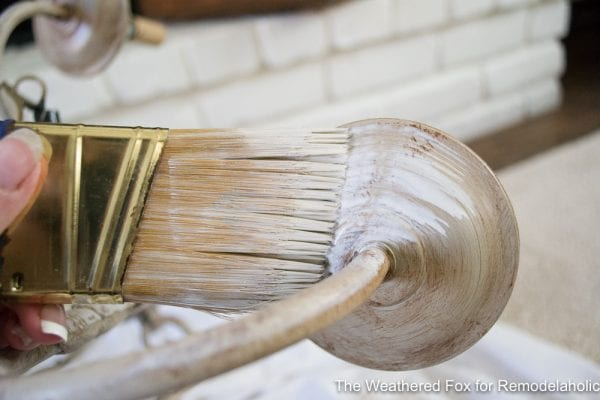 The Weathered Fox Chandelier Makeover 30