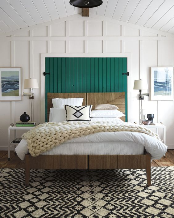 Remodelaholic modern coastal bedroom decor tips for Coastal bedroom design