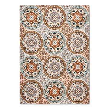suzani rug for postbox designs