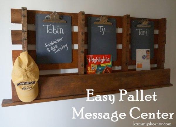 creative-diy-pallet-projects-pallet-message-center-and-organizer-kammys-korner