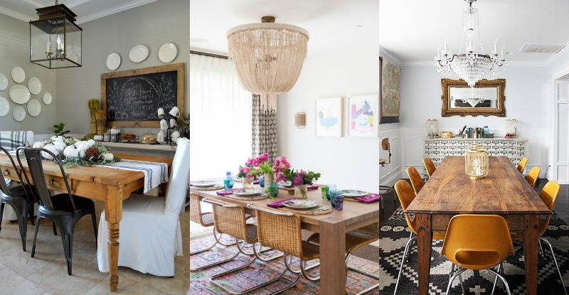 Remodelaholic | One Dining Room: Three Different Ways