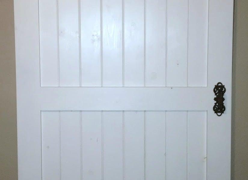 Remodelaholic Cheap Amp Easy Diy Barn Door
