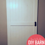 How To Build A DIY Barn Door Easy And Cheap On Remodelaholic