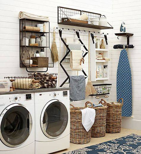 Laundry Room Organizer Pottery Barn