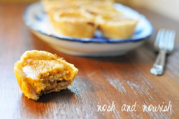 Pumpkin Pie Bites Nosh And Nourish