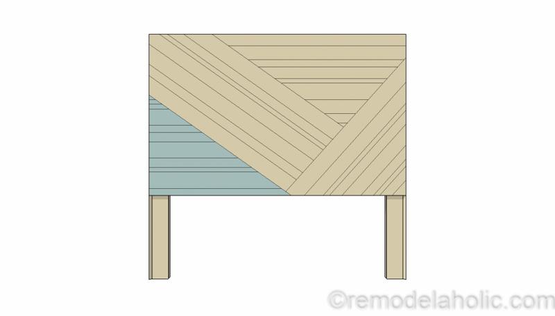 Rustic Pieced Wood Headboard 14 1
