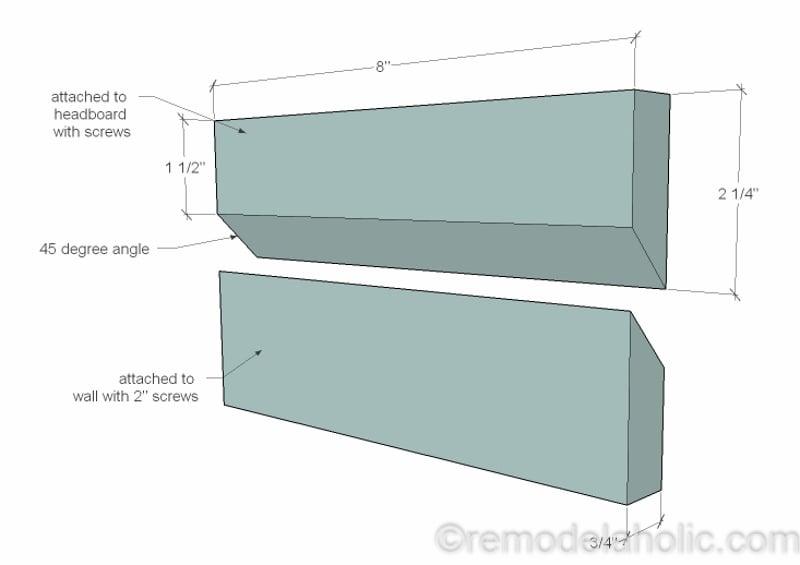 Rustic Pieced Wood Headboard 17 1