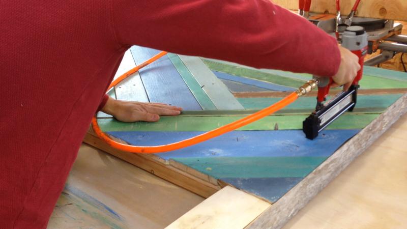 Rustic Pieced Wood Headboard 18