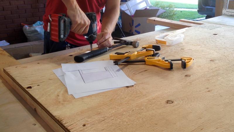 Rustic Pieced Wood Headboard 2