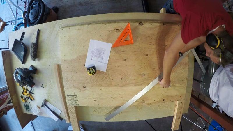 Rustic Pieced Wood Headboard 4
