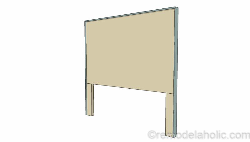 Rustic Pieced Wood Headboard 9 1