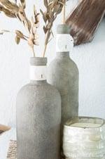Sand-Covered Bottles