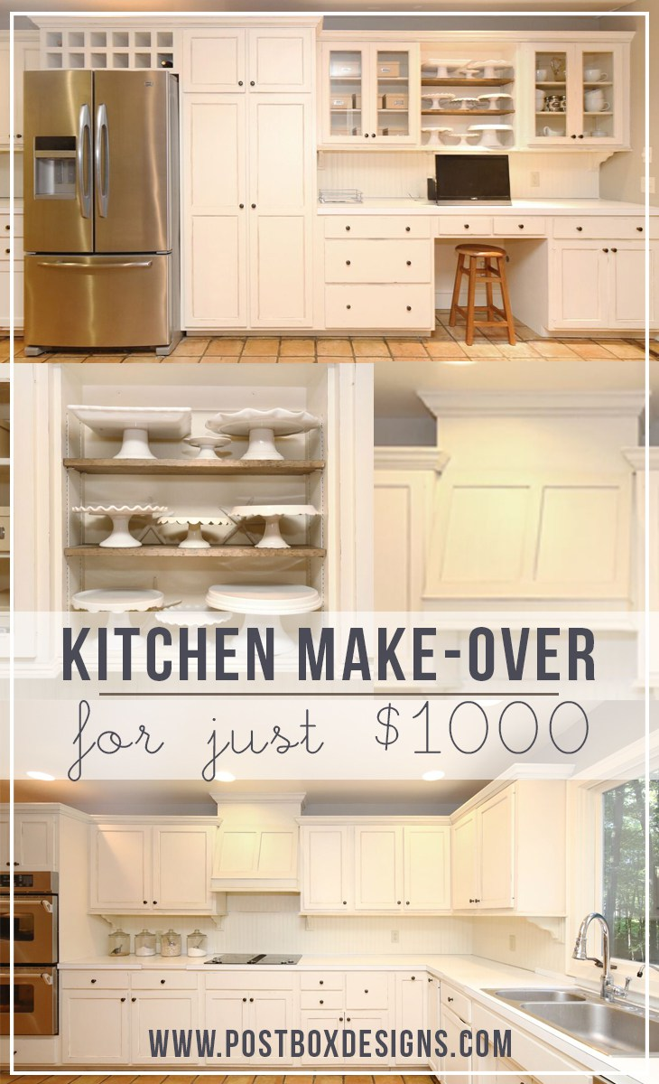 1000 Kitchen Makeover
