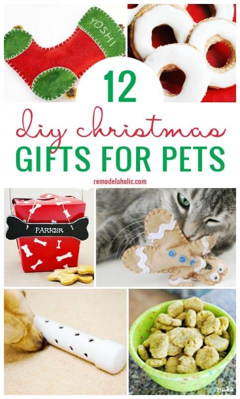 12 Diy Christmas Gifts For Pets