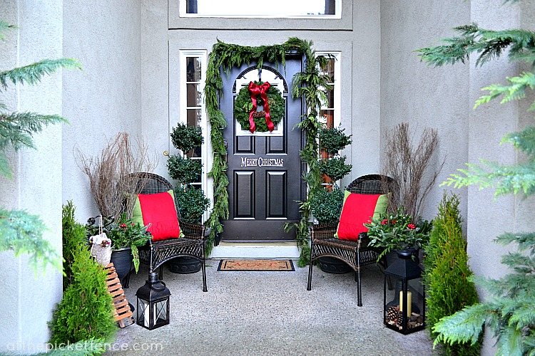 remodelaholic 20 festive christmas porches youll love
