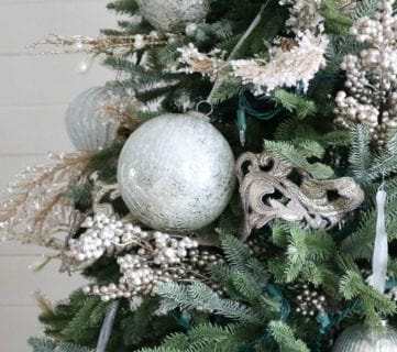 Diy Christmas Tree Decor Tutorial 1 Feat