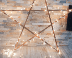 Diy Large Star The Learner Observer For Remodelaholic Feat