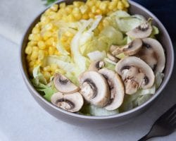 Easiest Grilled Salad