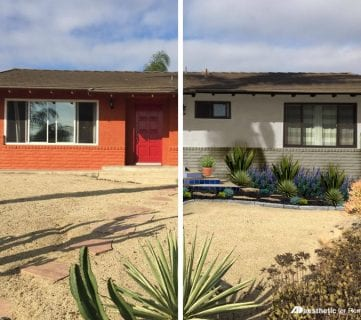 Real Life Rooms: Neutral Southwest Desert Curb Appeal