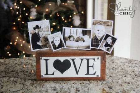 DIY a sentimental one-of-a-kind gift with these ideas featured on Remodelaholic.