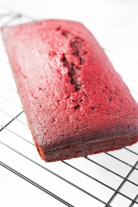 While red velvet is delicious year-round, it's extra festive during the holiday season. Reach beyond the typical cupcake or cookies and experiment with this easy holiday red velvet loaf recipe via remodelaholic.com