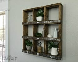 Rustic Cubby Wall Shelf 768x576