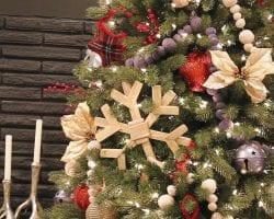 Rutic Woodland Chritsmas Tree Tutorial Remodelaholic 3