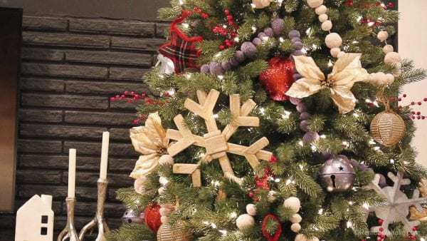 Rustic Woodland Christmas Tree Tutorial Remodelaholic