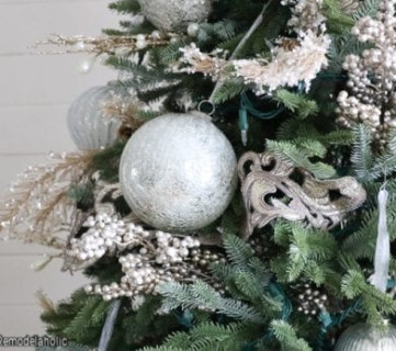 Step By Step Tutorial How To Decorate A Christmas Tree, Sincerely Sara D On Remodelaholic