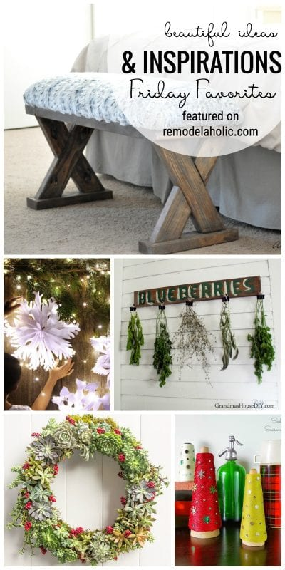 Beautiful Ideas And Inspirations Friday Favorites Featured On Remodelaholic Com