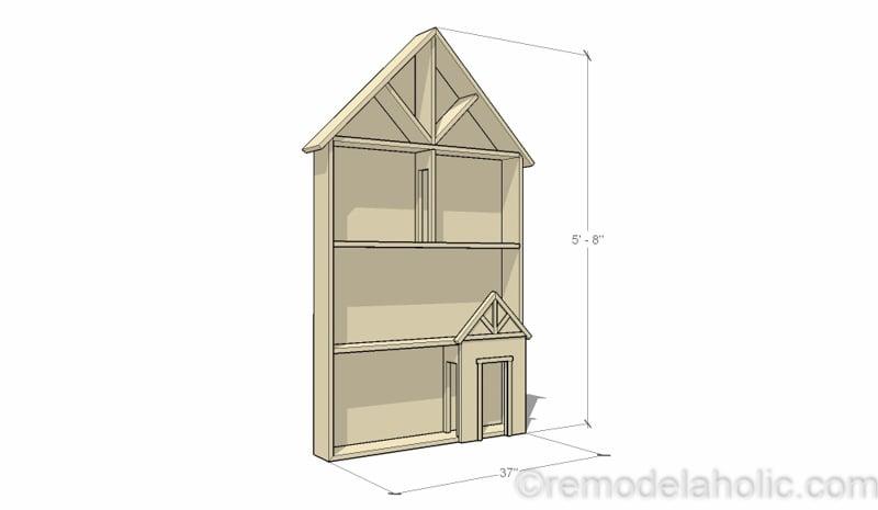 dollhouse furniture plans log furniture dollhouse project plans 41 remodelaholic diy tutorial free printable