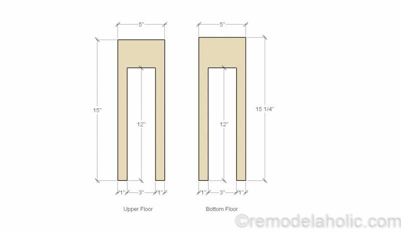Dollhouse Project Plans Diagrams