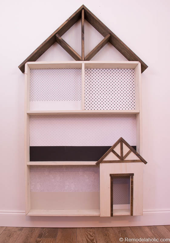 Dollhouse With Building Plan And Free Printables 1